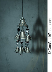 chinese wind chime - silver chinese wind chime image