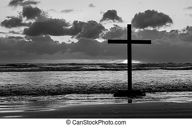 Beach Cross