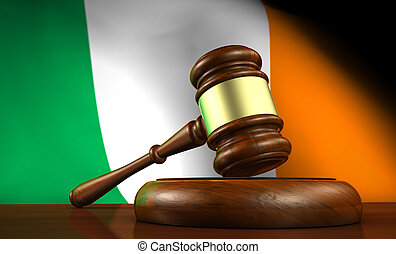Ireland Law And Justice Concept