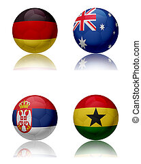 FIFA World cup 2010 - Group D
