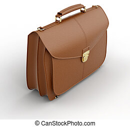 Business bag - Image of business bag White background
