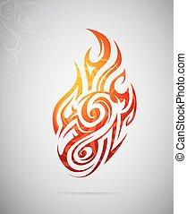 Graphic design element