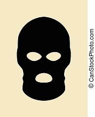 Bandit Mask - Symbol of a bandit or terrorist mask