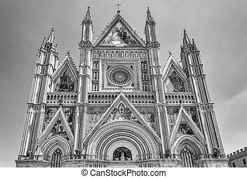 Orvieto Cathedral, Italy - The Gothic Cathedral of Orvieto,...
