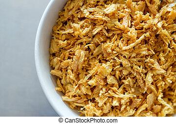 deep fried garlic