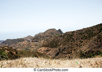 Landscape in Canary Islands
