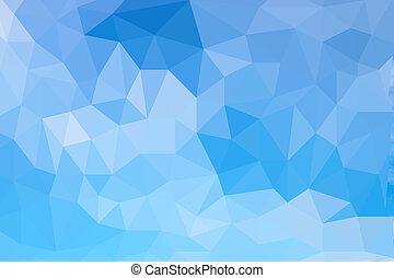 modèle, de, géométrique, formes,