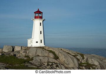 Peggy's Cove Lighthouse, Nova Scotia, Canada Martitimes