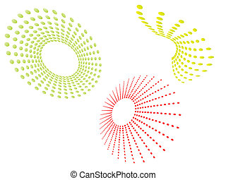 grafic design - vector illustration of different grafic...