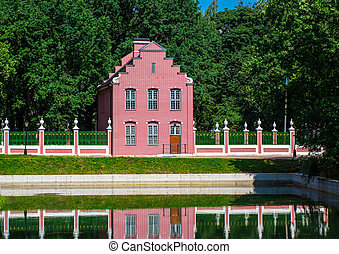 Dutch brick house in Kuskovo Park - Moscow, Dutch style...