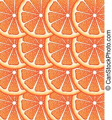 Grapefruit Slices Background - Bright background with juicy...