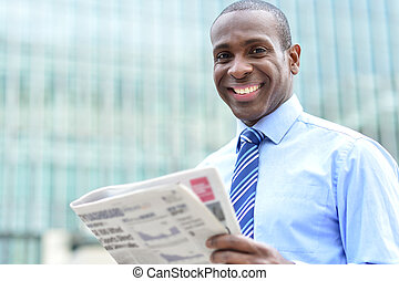 More career opportunity in news paper. - Corporate male...