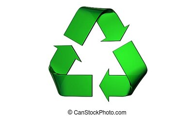 Face Turning recycle green logo - Face to front turning...