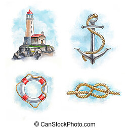 Nautical objects