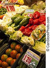 tradicional, Mercado,