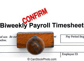 folha pagamento,  timesheet