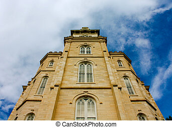 Manti Temple - Utah Manti Temple of The Church of Jesus...