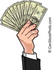 Hands Showing Money 1