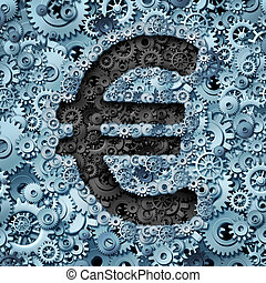 Euro Banking Industry - Euro banking industry currency...