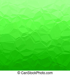 Green polygons - Abstract background pattern with green...