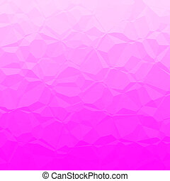 Pink polygons - Abstract background pattern with pink...