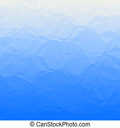 Blue polygons - Blue polygonal background pattern with...
