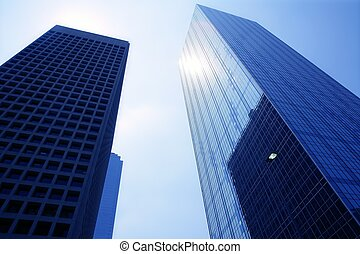 Dallas downtown city urban bulidings view - Dallas downtown...