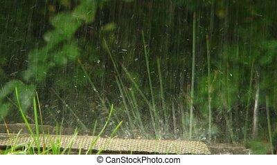 Rain - There is heavy rain