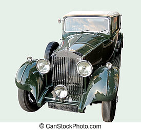 Rolls-Royce Phantom - Retro car of 1930s Rolls-Royce Phantom...