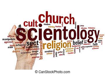 Scientology word cloud - Scientology concept word cloud...