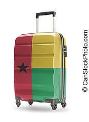 Suitcase with national flag on it - Guinea-Bissau - Suitcase...