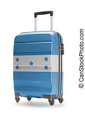 Suitcase with national flag on it - Honduras - Suitcase...