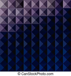 Purple Taupe Abstract Low Polygon Background - Low polygon...