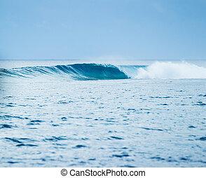 Ocean Wave - Blue Ocean Wave