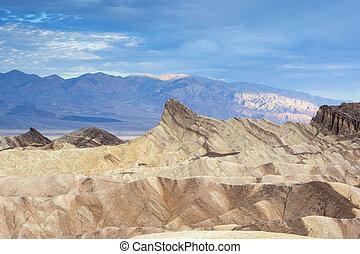 Fanciful Designs Of Zabrislie Point Amargosa Mountain Range...