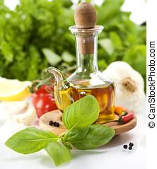 橄欖, 蔬菜, 油