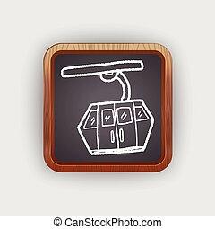 Cable Car doodle