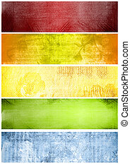 rainbow textures and backgrounds - Great grunge textures and...