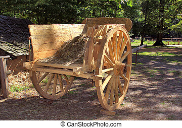 Cart - a hay cart to the Middle Ages