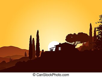 sundown and holiday home - holiday home in beautiful...