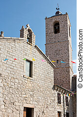 Saint Anna Church in Arzachena Sardinia