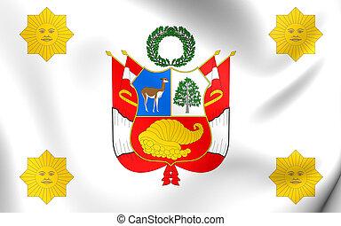 Presidential Standard of Peru - 3D Presidential Standard of...