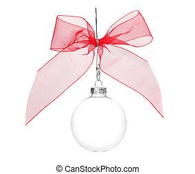 One Crystal Clear Holiday Bulb Decoration - Single Crystal...