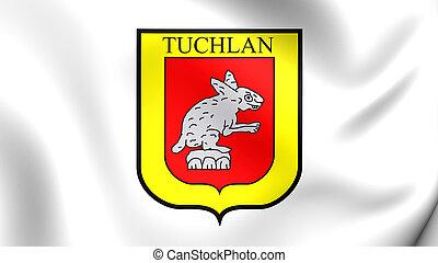 Flag of Tuxtla Gutierrez, Mexico - 3D Flag of the Tuxtla...