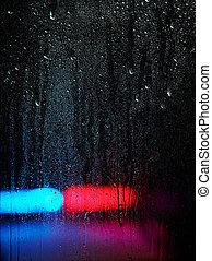 水, 緊急事件, 下降, 光, 窗口, 背景