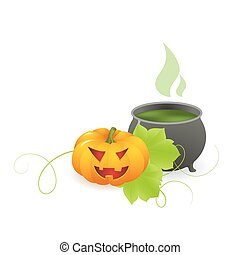Halloween background - Halloween background with with magic...