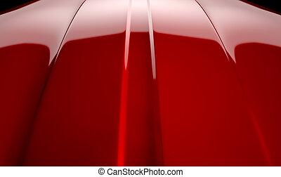 自動車, 輪郭, 赤, さくらんぼ