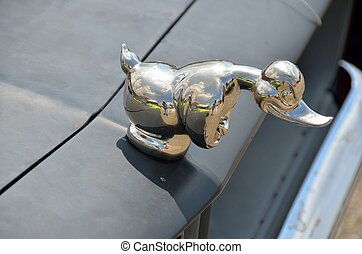 Convoy Rubber Duck hood ornament - Famous car and truck...