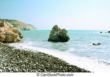 Aphrodites legendary birthplace in Paphos,Cyprus - Petra tou...
