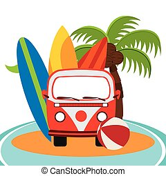summer vacations design, vector illustration eps10 graphic